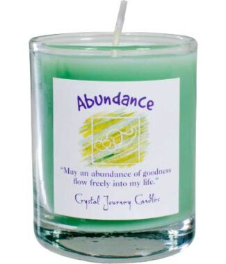 Abundance votive soy candle