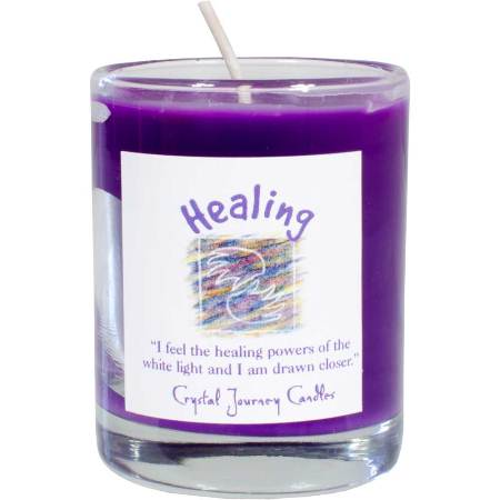 Healing votive soy candle