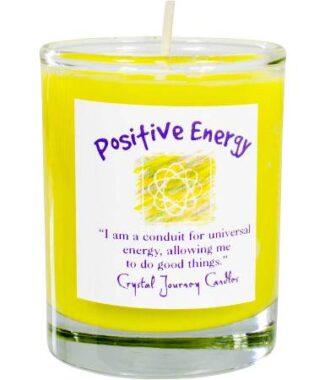 Positive energy votive soy candle