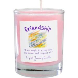 Friendship votive soy candle