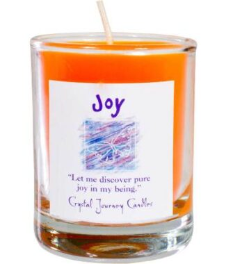 Joy votive soy candle