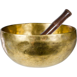 Hand Hammered Singing Bowl Large Plain