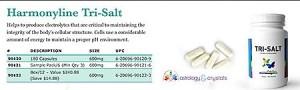 Tri-salts vitamins