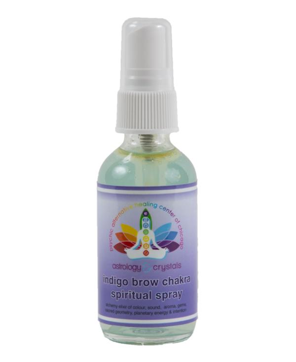 indigo brow chakra spiritual spray
