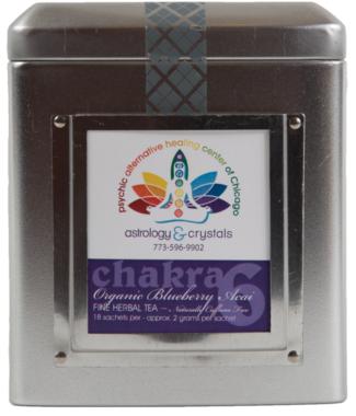 indigo brown chakra tea