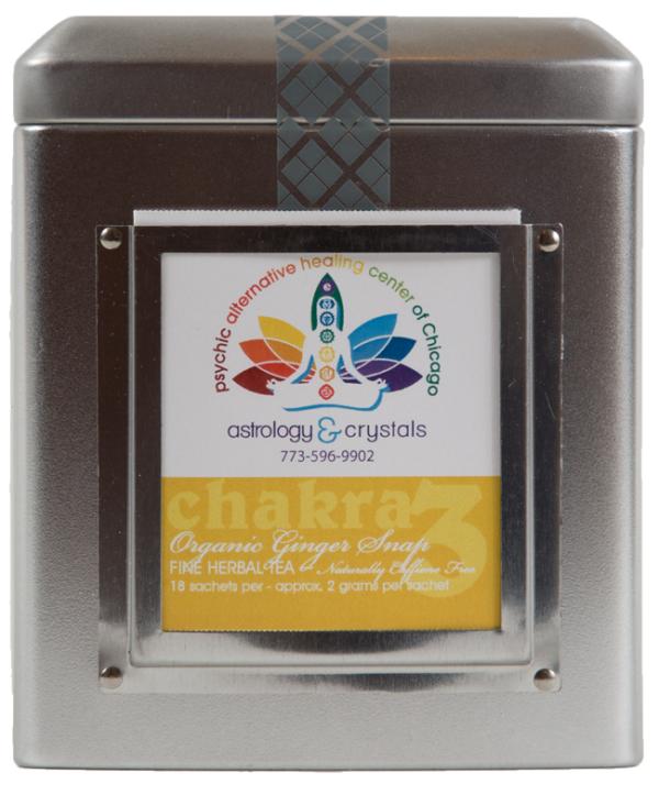yellow solar plexus chakra tea
