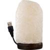 Salt Lamp w/USB Cord & Led Light Iceberg