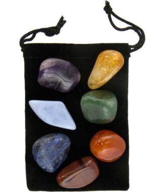 Chakra balancing stones kit