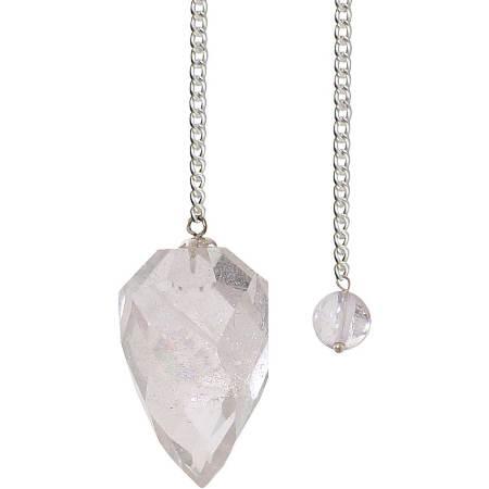Pendulum light diffuser clear quartz