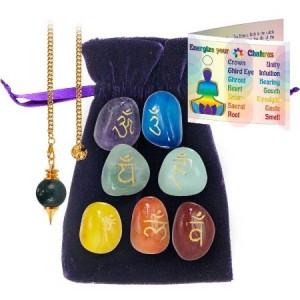 Chakra energizing stones kit