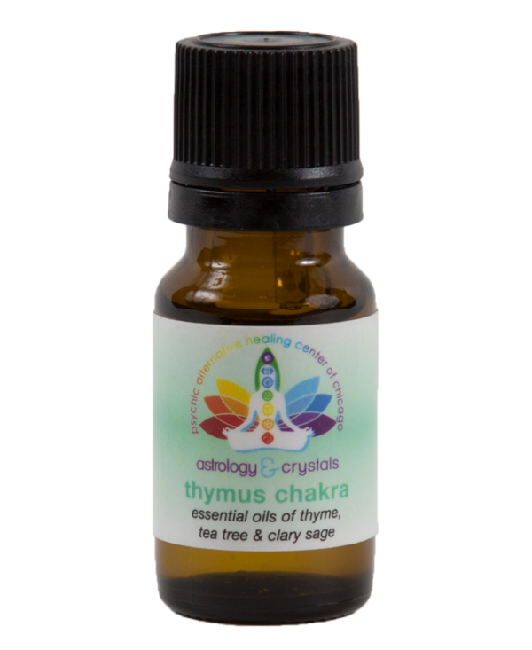 astrology and crystals thymus chakra