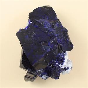 Fine azurite natural crystal