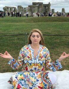 faith our main psychic meditating